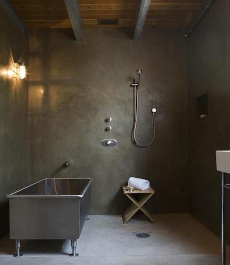 Bagni in microcemento bl floors - Ricoprire piastrelle bagno ...